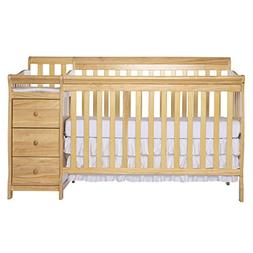 Dream On Me 5 in 1 Brody Convertible Crib with Changer, Natu