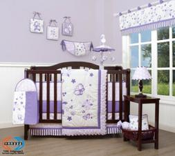 13PCS  New Lavender  Baby Nursery Crib Bedding Sets  Holiday