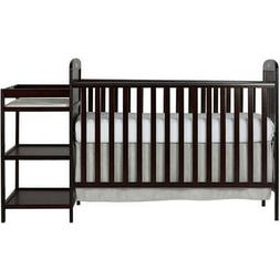 4-in-1 Convertible Crib, Changer, Toddler Day Bed, Day Bed W