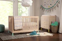 Babyletto 5-Piece Nursery Crib Bedding Set, Fitted Crib Shee