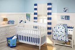 Little Bedding by NoJo Splish Splash 3 Piece Crib Set