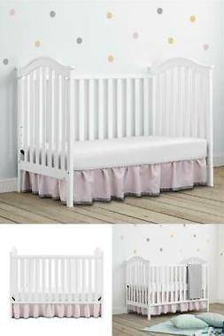 Baby Relax Adelyn 2-in-1 Convertible Baby Crib Infant Daybed