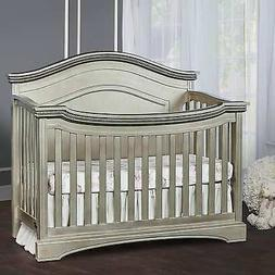 Evolur Adora Curve Top Collection Convertible Crib - Pewter