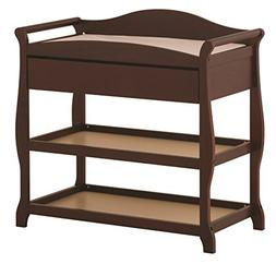 Aspen Changing Table with Drawer - Finish: Cherry