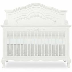 Evolur Aurora 5-in-1 Convertible Crib in Frost