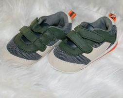 Baby Boy Carter's Sneaker Crib Shoes 9-12 Months