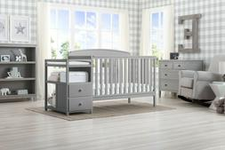 Baby Children Royal 4-in-1 Convertible Baby Crib and Changer