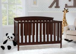 Baby Crib 4in1 Convertible Full Size Toddler Bed Nursery Woo