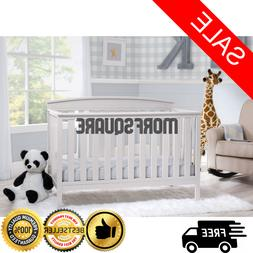 Baby crib toddler bed Convertible 4 in 1 adjustable height d