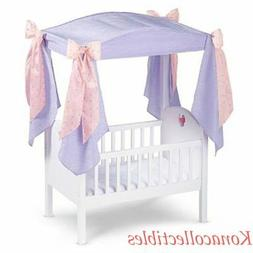 American Girl Bitty Baby Canopy Set for Crib Only! New! Reti