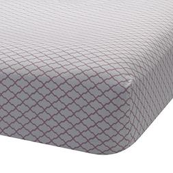 Lambs & Ivy Bunny Collection Fitted Sheet, Lattice