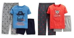 Carter's Infant  Boys 3 Pc Pajama Set Sz 2T Crab or Pirate N