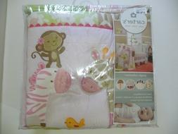 Carter's Jungle Collection 7 Piece Crib Bedding Set new vers