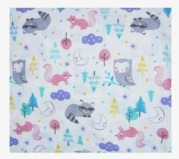 Carter's Woodland Forest Animals Baby  Fitted Crib Sheet -