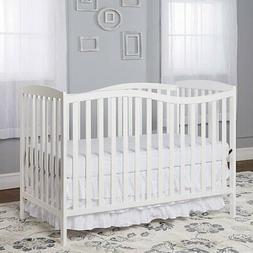 Dream On Me Chelsea 5-in-1 Convertible Crib - White