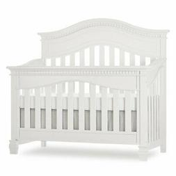 Evolur Cheyenne 5-In-1 Convertible Crib in Brush White