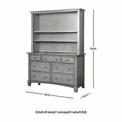 Evolur Cheyenne and Santa Fe Hutch White