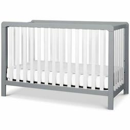 Carter's Colby 4-in-1 Low-Profile Convertible Crib - Grey an
