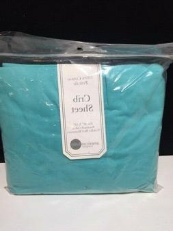 American Baby Company 100% Natural Cotton Percale Fitted Cri