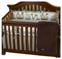 Crib Bedding Cotton Tale Designs Aye Matie 5 Piece Set NEW