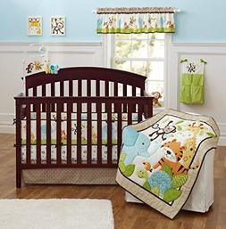 Brandream Crib Bedding Sets for Boys with Bumpers Nursery Ju