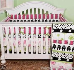 Cotton Tale Designs Hottsie Dottsie 4 pc crib bedding nurser