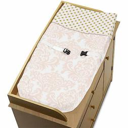 Diaper Changing Table Pad Cover For Sweet Jojo Amelia Girl B