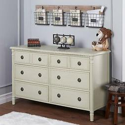 Elegant Posh Evolur Julienne Double Dresser Cloud Shabby Chi