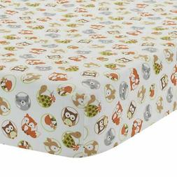Bedtime Originals Friendly Forest Woodland Fitted Crib Sheet