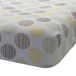 Lambs & Ivy Giraffe Collection Fitted Sheet, Dot