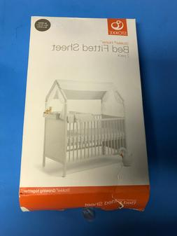 Stokke® Home™ Fitted Bed Crib Cradle Sheet in White