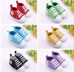 Infant Toddler Sneakers Baby Boys Girls Soft Sole Crib Shoes