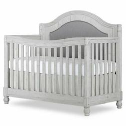 Evolur Kendal 5 in 1 Curve Top Convertible Crib in Antique G