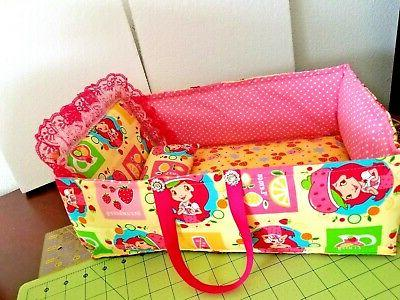 15 quilt patchwork baby doll toy bed