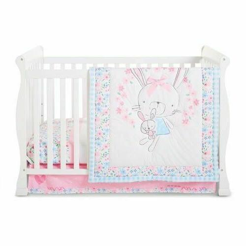 LITTLE WONDERS CRIB RUFFLE FITTED STYLE