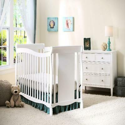 4 In Cribs Toddler Set Wooden Bed Position Mattress