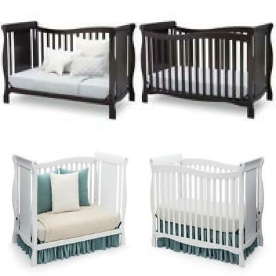4 in 1 convertible cribs toddler guard