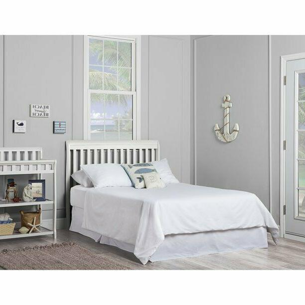 5-in-1 Convertible Full Size Nursery Bedroom White