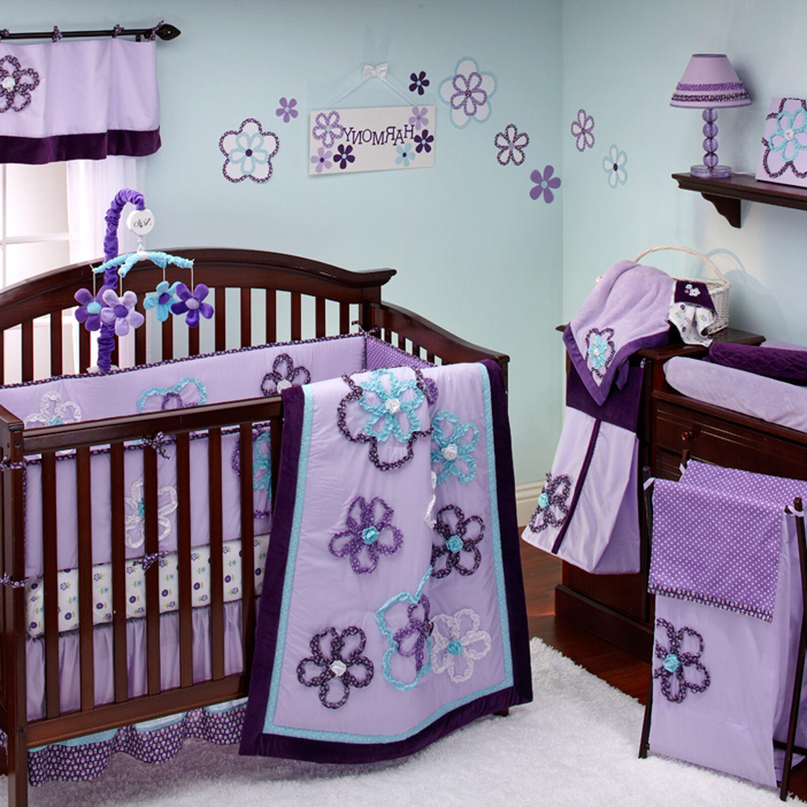 NoJo Harmony 8 Piece Crib Bedding Set