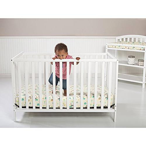 Trend Rail Narrow Crib Made up 8""