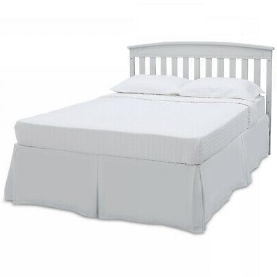 Baby toddler Convertible in 1 adjustable height white wood now