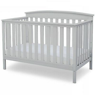 Baby bed Convertible in 1 adjustable height wood
