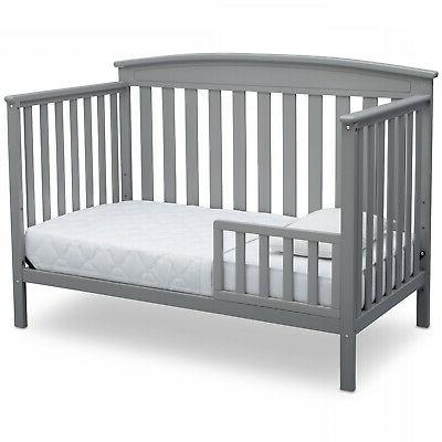 Adjustable Baby Crib 4 in 1 Wood BED