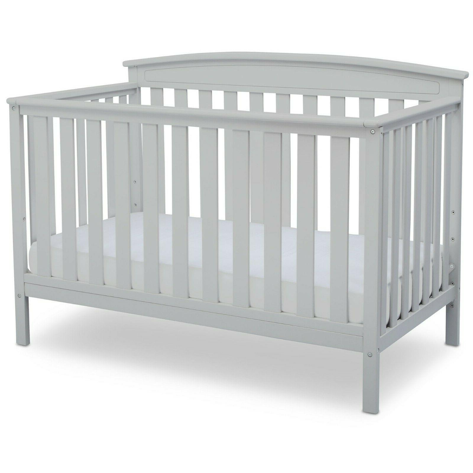 Delta Children's Products Gateway 4-in-1 Fixed-Side Crib,