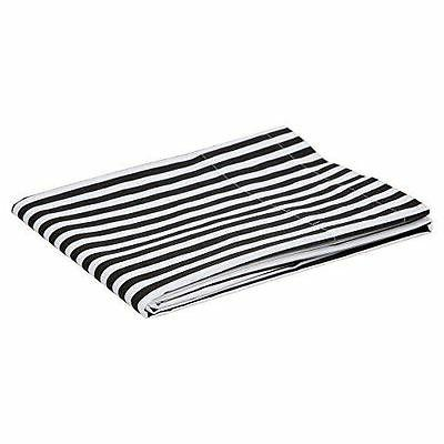 Bacati Pin Stripes Fitted Crib Sheet