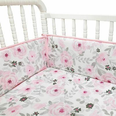 Bedtime Blossom Watercolor Bumper