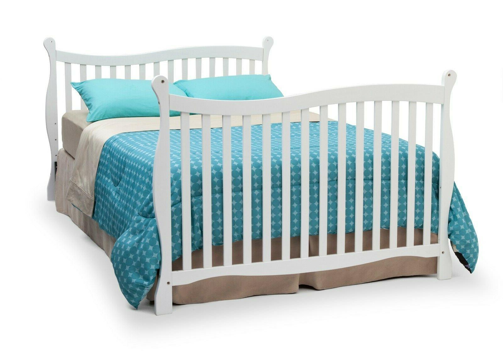 Delta Children Brookside Fixed-Side Certified