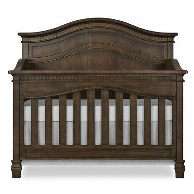 Crib in Antique Brown