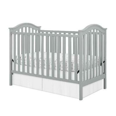 Convertible Baby Crib Daybed Nursery New Born Wood