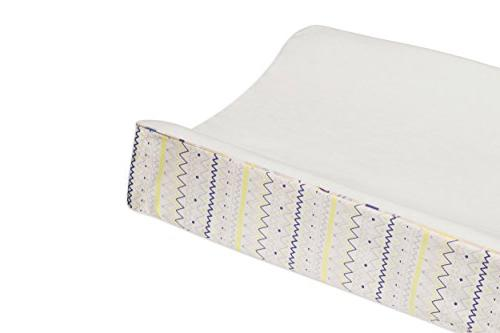 Babyletto 5-Piece Nursery Bedding Set, Sheet, Skirt, Blanket, Changing Pad Cover Wall Desert Dreams